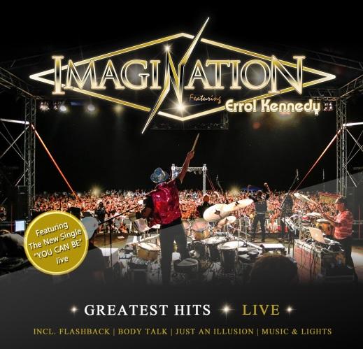 Album Cover_IMAGINATION ft Errol Kennedy Greatest Hit Live Album 2016-21